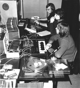 STOIC recording the interview with Lord Penney 1971