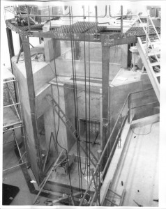 P.HSN Reactor Under Construction. From above. Spring 1964