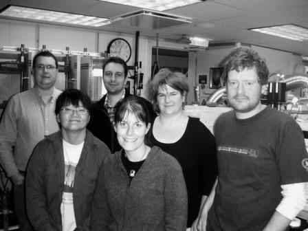 IODP expedition 318 chemistry/microbiology team